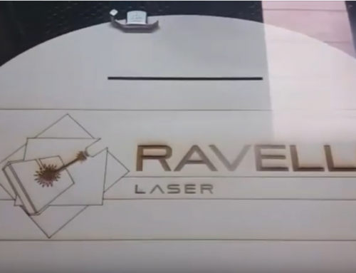 CO2 Laser cut and engraving on WOOD Video demonstration