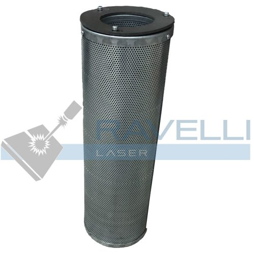 Filter active cylindrical coals