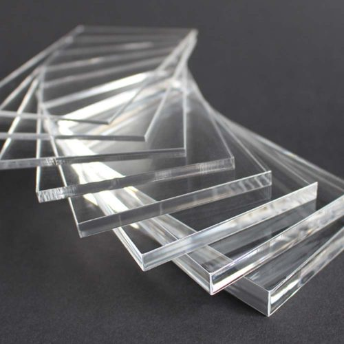 Plexiglass Colato Trasparente
